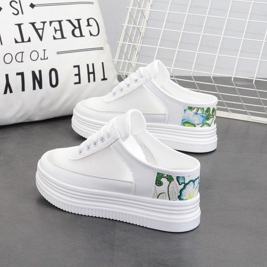 2019夏季镂空透气网面m 7c小白鞋热销0件需要用券