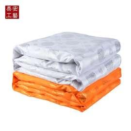 寿被男女全套被子褥子棉质盖垫单老人冲喜寿衣死人白事丧殡葬用品