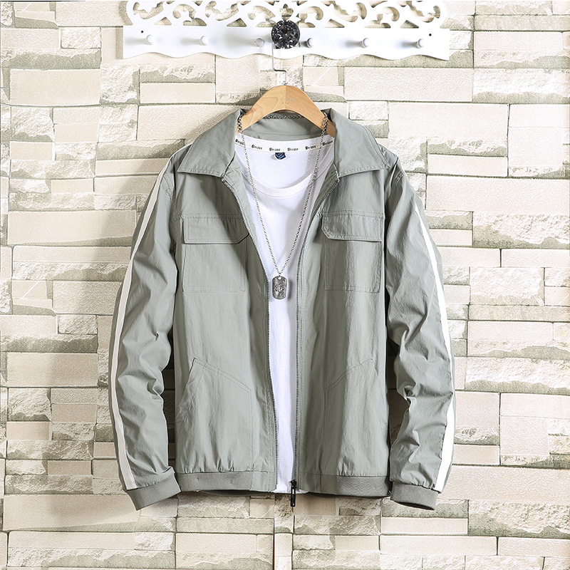 City Zorro 2019 new jacket coat mens Korean Trend leisure student mens leisure spring and autumn style
