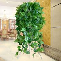 垂吊仿真绿植物盆栽装饰假绿叶藤条用后评测