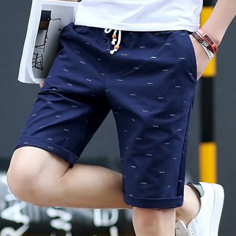 ht Cargo Shorts Quality Comfortable Male Homme Elastic short