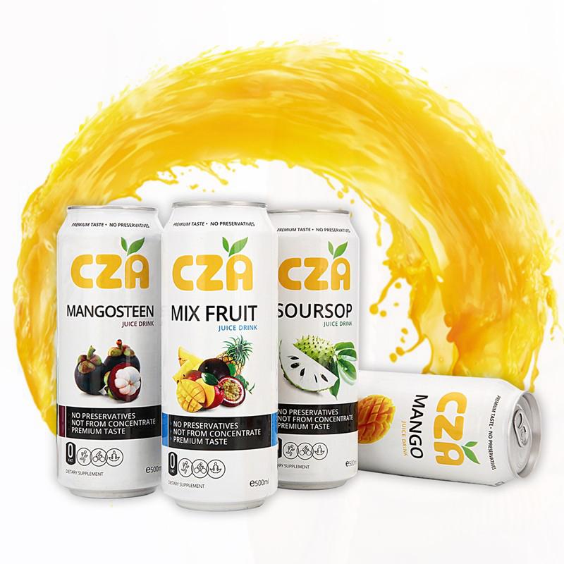 CZA越南进口儿童芒果复合果汁饮料混合装浓缩网红大瓶500ml多口味