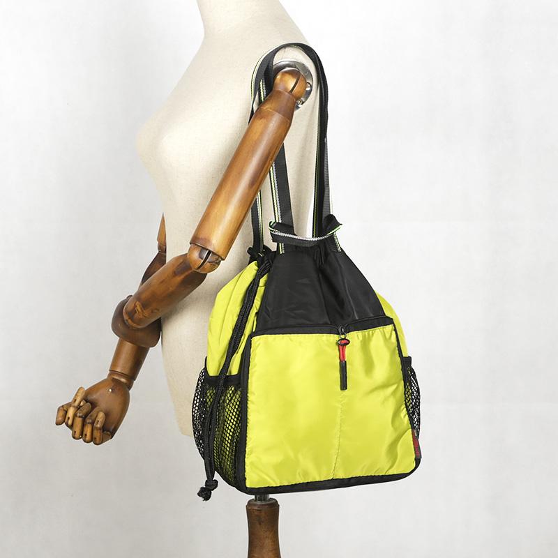 银爵捐赠抽绳束口袋手提肩背多功能超轻便携皮肤包可折叠礼品背包