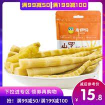袋包邮4红油笋片素食红油竹笋干泡椒竹笋400g小小春香辣脆笋丝