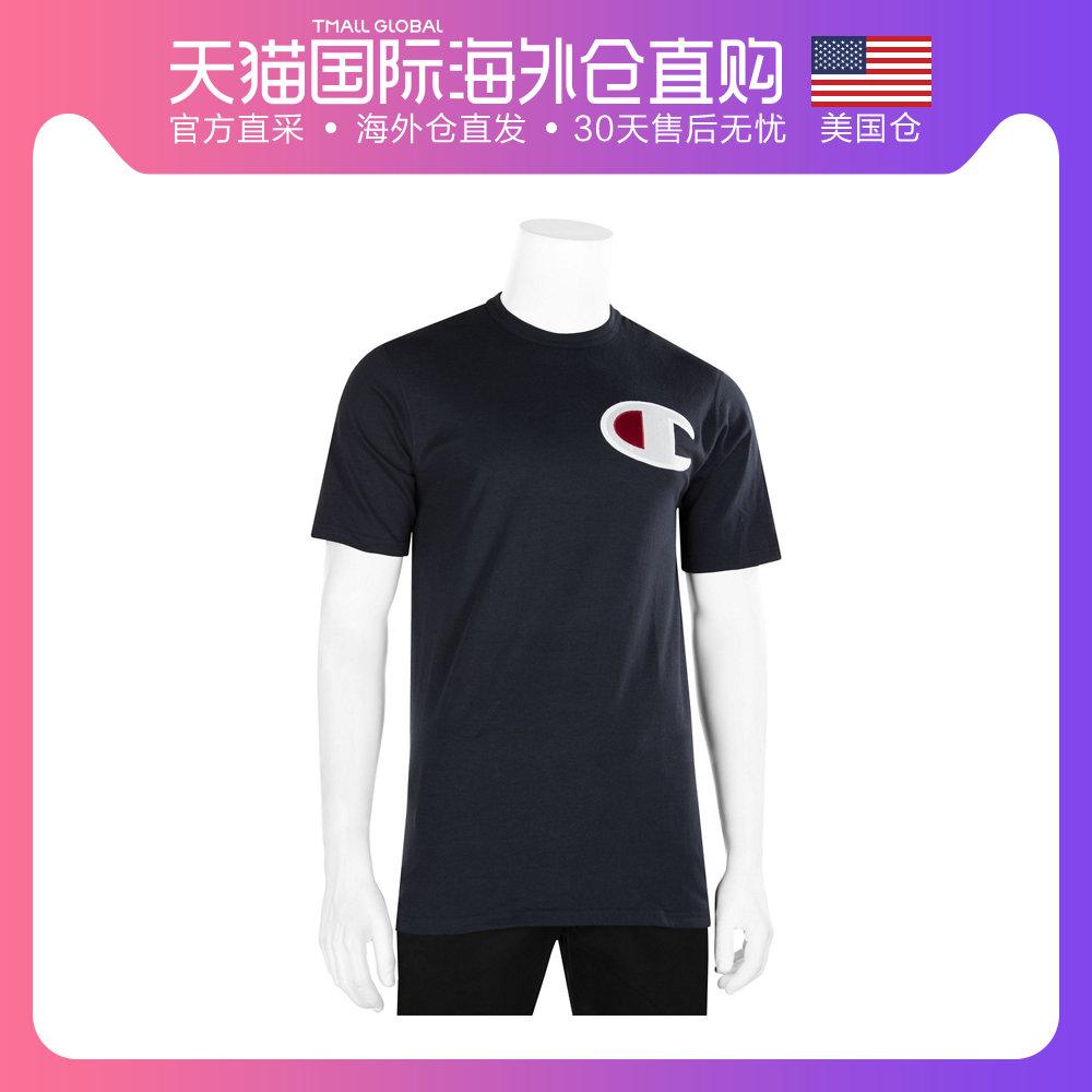 美国直邮Champion冠军LifeLogo男子圆领运动休闲短袖纯棉T恤衫213.00元包邮