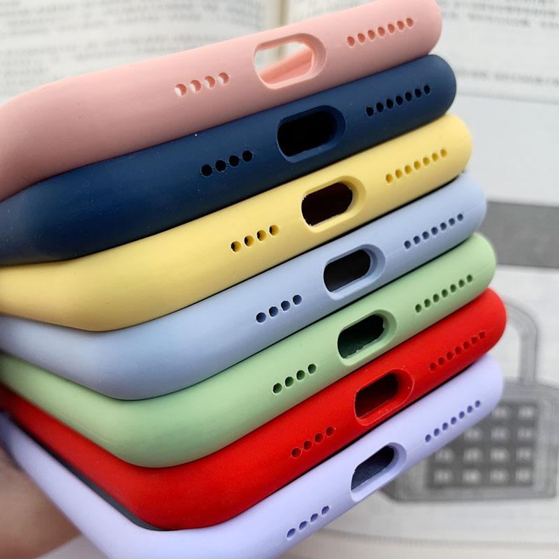 苹果x iphone11液态硅胶网红手机壳
