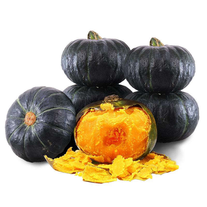 正宗板栗味贝贝南瓜10日本种源栗面日本老瓜助农蔬菜新鲜净重5斤