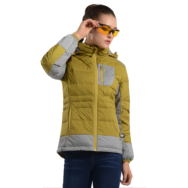 Colonunce down jacket for women in autumn and winter