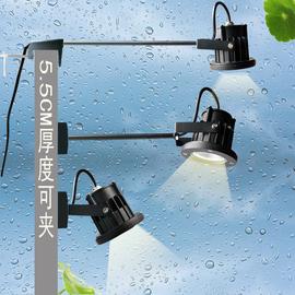 LED户外门头防水射灯展览长杆广告牌COB招牌长臂牌匾明装防雨筒灯