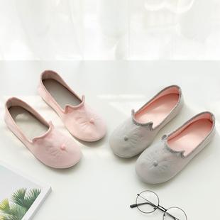 月子鞋夏季薄款产后软底春秋季包跟室内鞋孕妇鞋厚底产妇月子拖鞋
