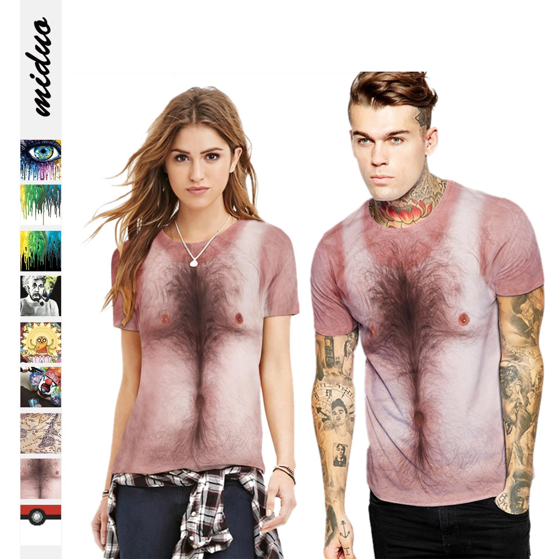 �0�2Summer short-sleeved tops for men and women季短袖上衣