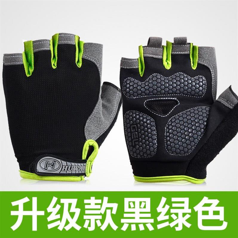 Half finger gloves for mens fitness and ventilation training driving thin and graceful skating