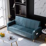 北欧小户型沙发卧室简易现代简约公寓出租房门面用双人位凳子靠背