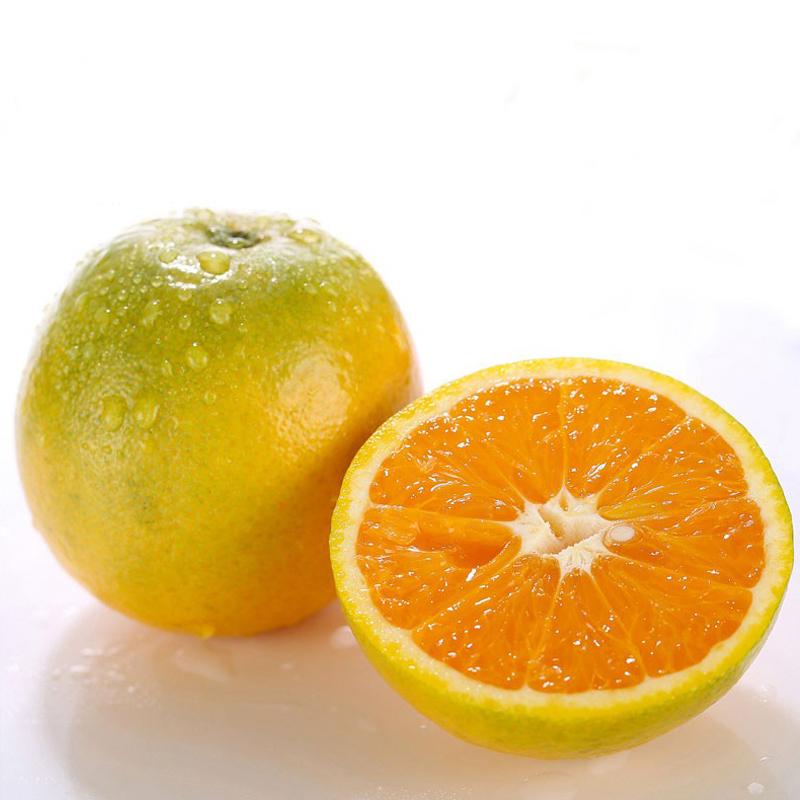 秭归夏橙伦晚脐橙甜橙子冰糖橙手剥应季当季水果新鲜整箱10斤包邮