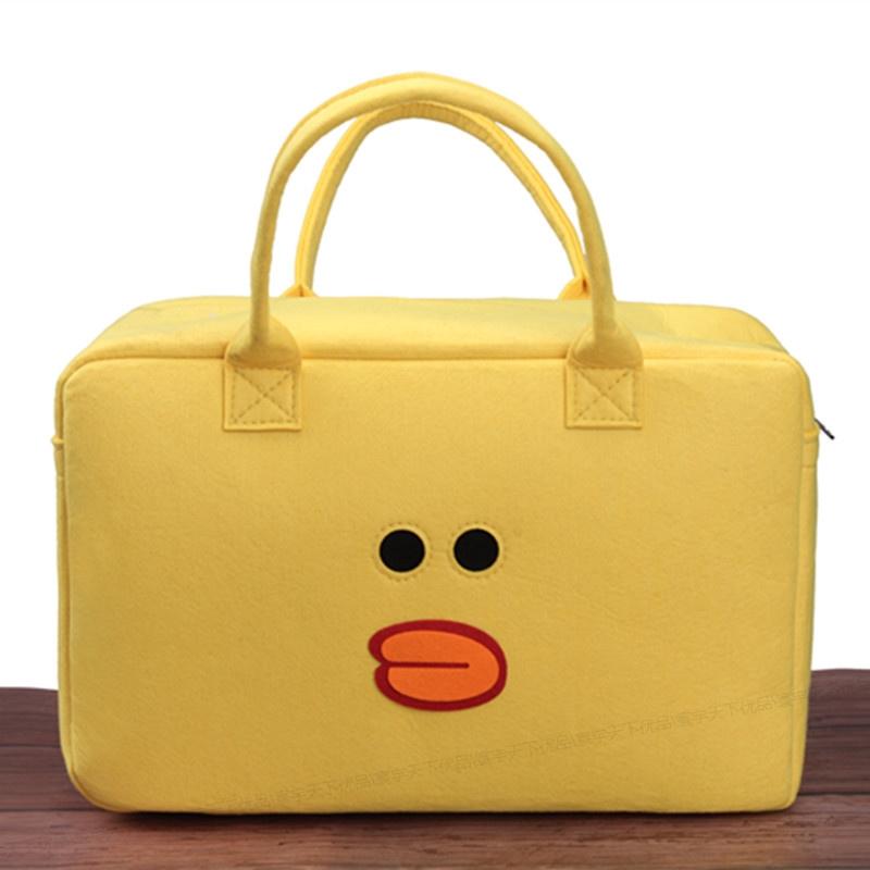 古贝莱儿童行李袋手提旅行包卡通搬家收纳装鞋子出门装宝宝衣服的