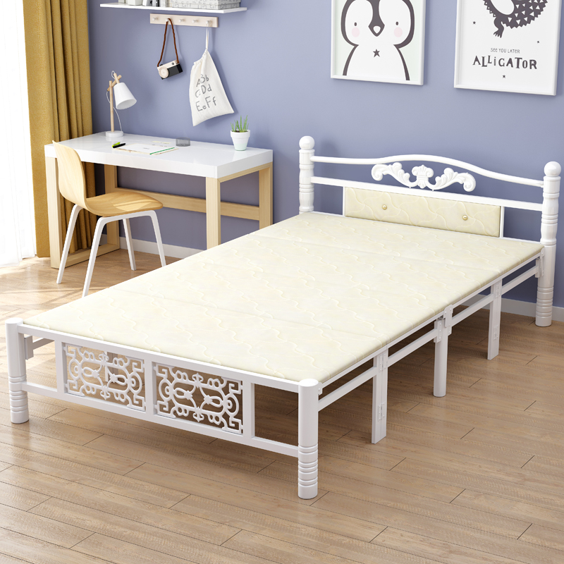 好运客单人床家用1.2米折叠床
