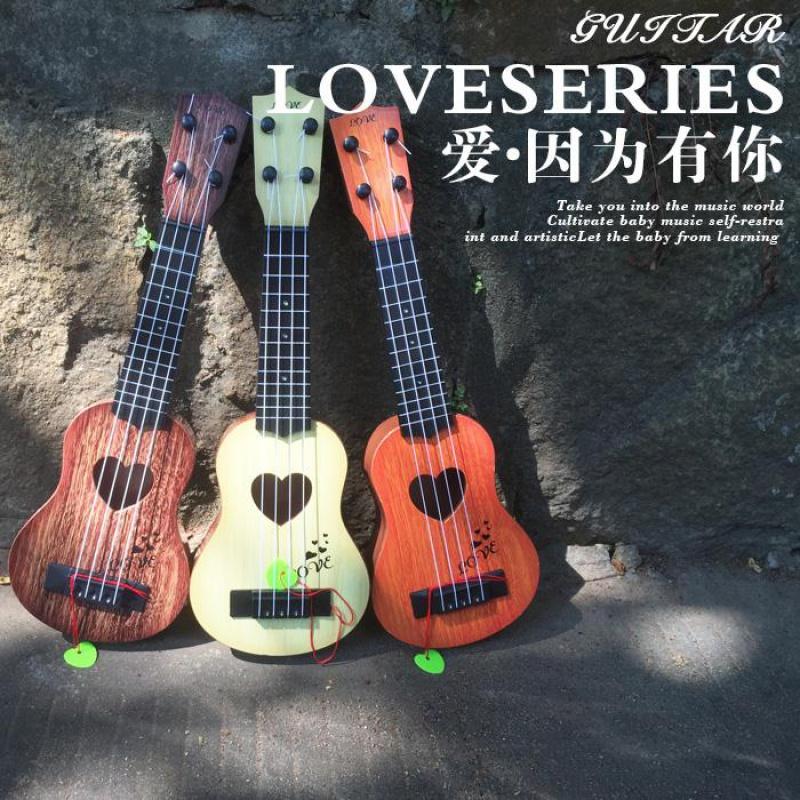 券后21.00元儿童初学者成人音乐吉他 仿真中号尤克里里 乐器琴宝宝塑料玩具
