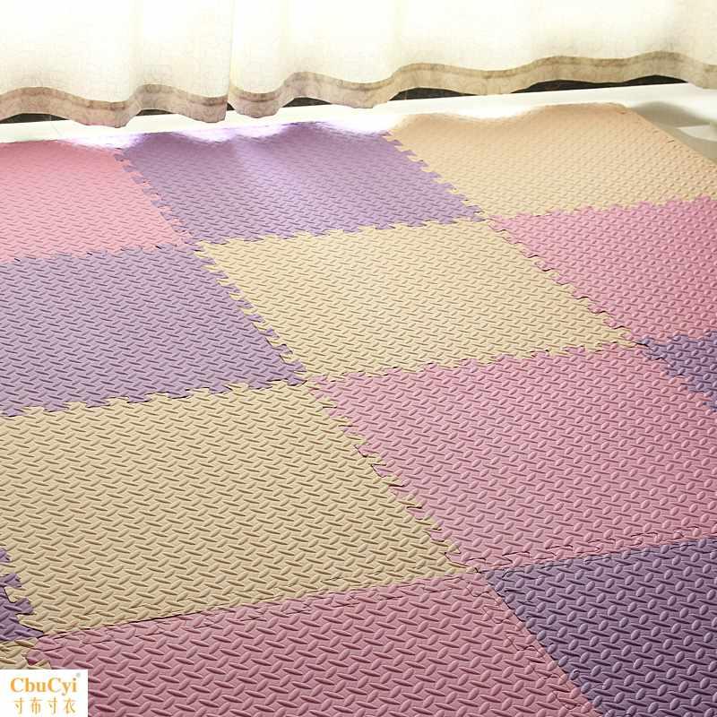 儿童拼接泡沫地垫宝宝爬行垫家用加厚榻榻米地板垫舞蹈室地毯地板