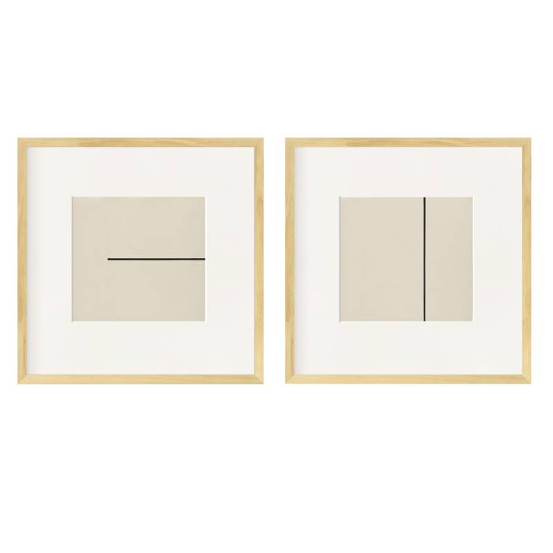 ? Elsworth Kelly Abstract minimalist art deco Z combination living room bedroom art hanging picture North