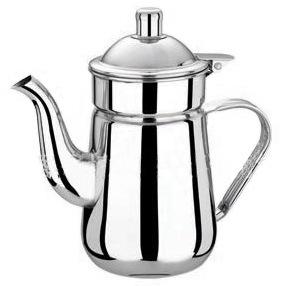 热销 不锈钢天鹅凉水壶1.8L冷水壶 咖啡店商业水壶厨房用品果汁壶