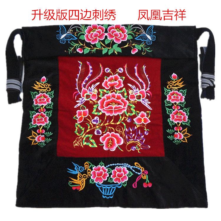 云南m小孩背带布贵州宝宝传统背巾婴儿童老式背扇四川多功能后背