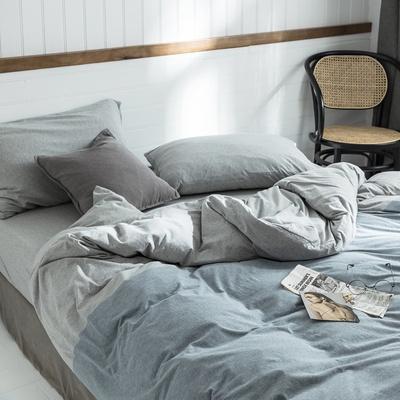 日本は日本式天竺綿綿綿四点セットの綿シングルペア裸寝具新疆長絨綿寝具ベッドを買います。