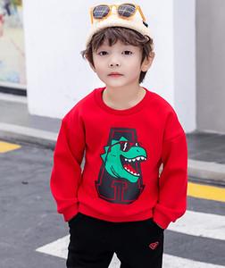 班巴拉bala男童卫衣2019春秋冬季新款加绒保暖儿童绒衫小童宝宝厚