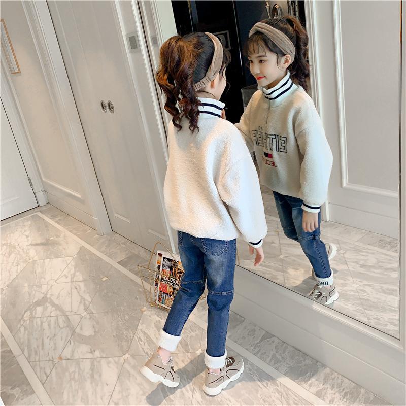 女童秋冬时尚卫衣