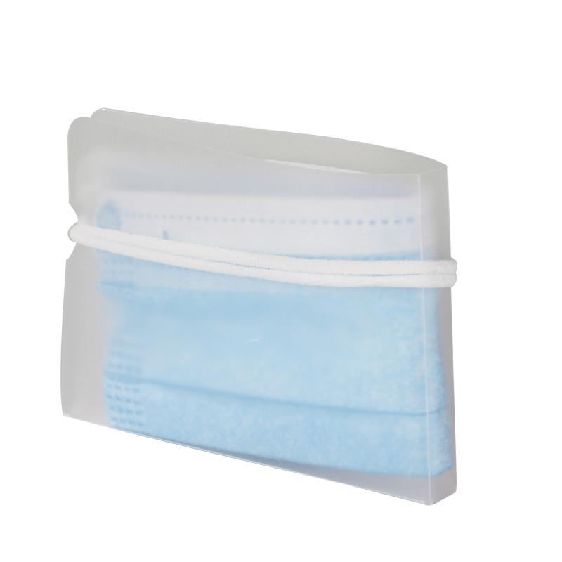 口罩收纳夹随身便携防水加厚口罩通用夹子收纳袋盒子可折叠暂存夹
