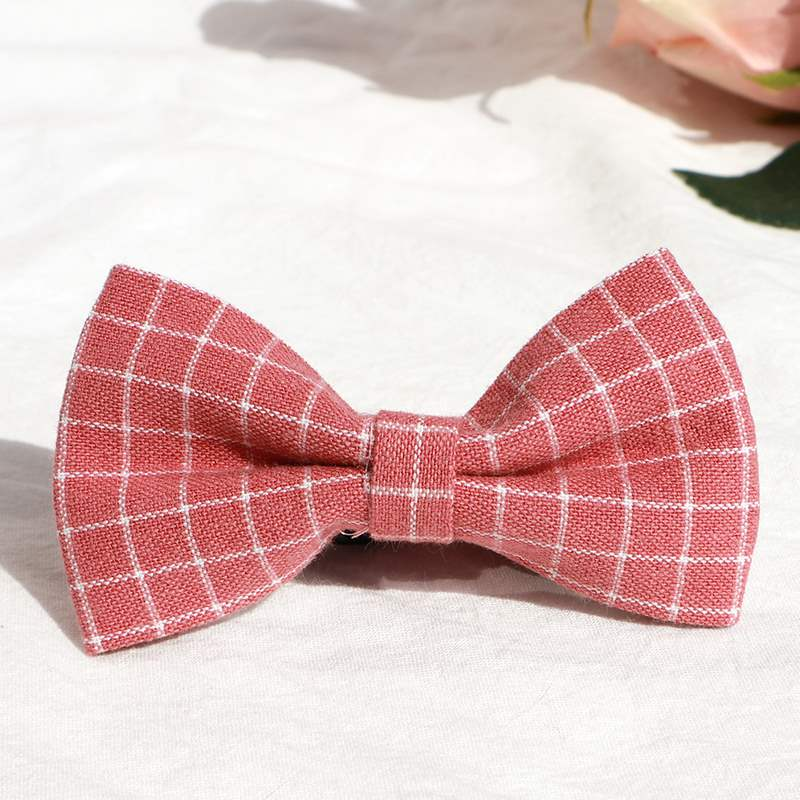 Necklaces, necklaces, bows, pet cats, dogs, British style bow tie accessories, cute accessories
