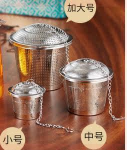 新款煮茶网兜不锈钢过滤茶叶过滤器滤网滤球滤茶漏创意茶包滤茶器