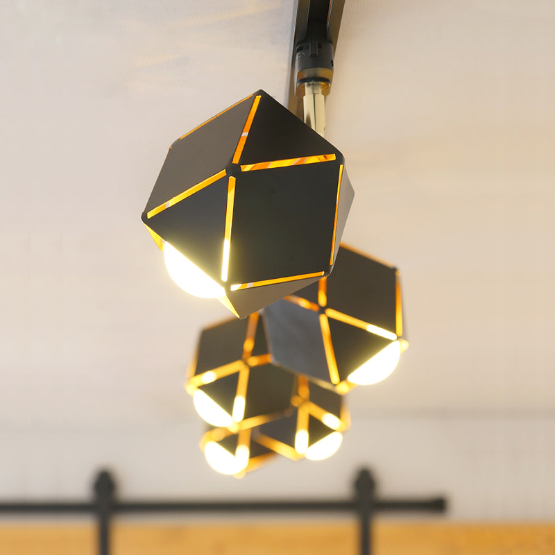北欧現代のアイデア装飾照明両用レールランプ家庭用の実用的な暗い照明LEDライトガイドランプ