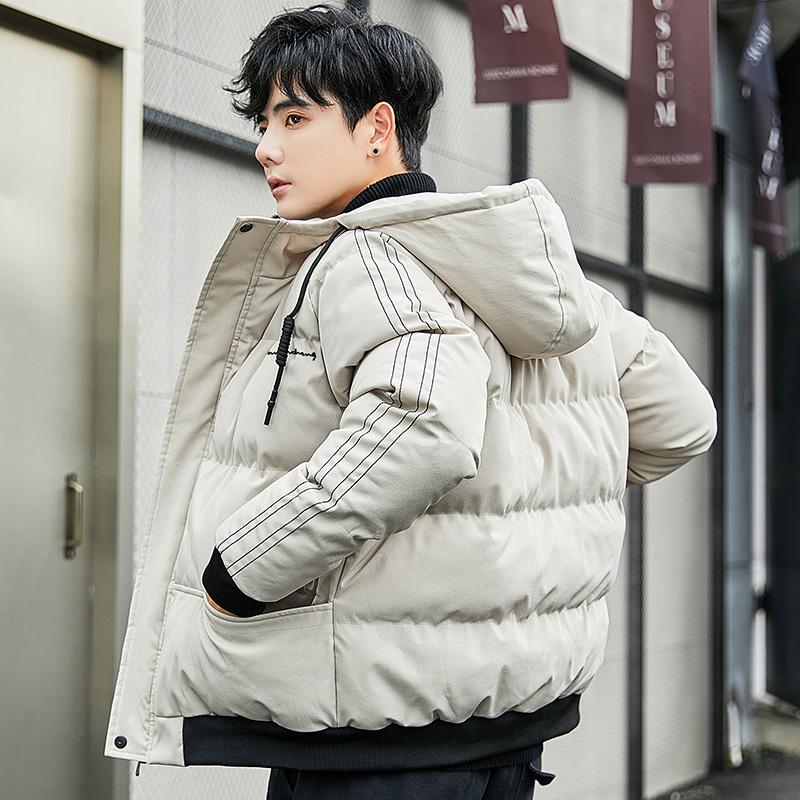 棉衣男士2019冬天新款潮牌加厚外套男装羽绒棉面包服百搭上衣棉袄