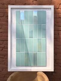 卫生间北欧手工幻彩白色砖绿色花砖厨房墙砖瓷砖阳台浴室摩洛哥