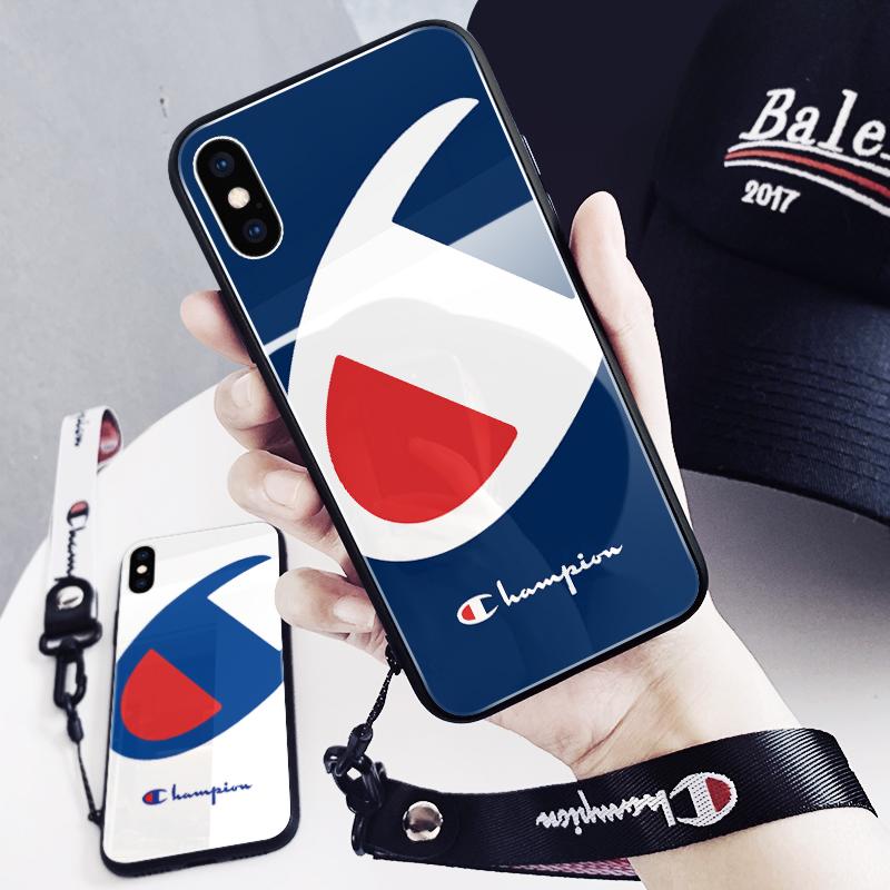 11-14新券高档玻璃潮牌苹果x iphone xs手机壳