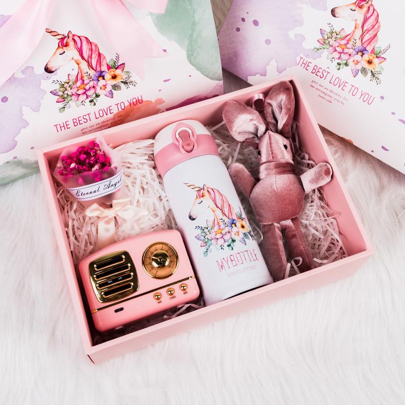 12月03日最新优惠网红伴手礼女伴娘婚礼结婚礼盒宝宝满月周岁生日小清新创意小礼品
