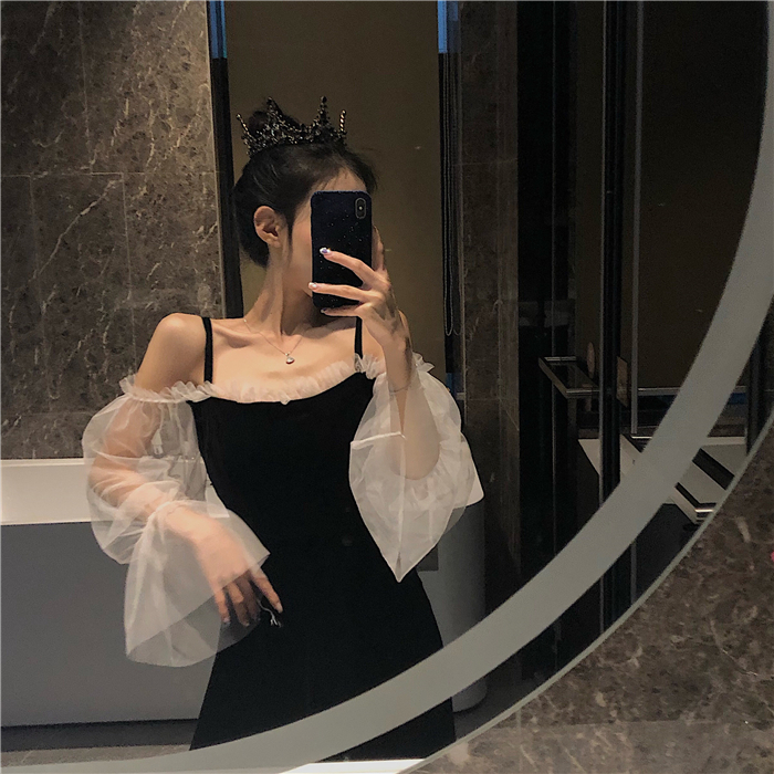 151.26元包邮性感高级感气质酒吧蹦迪女连衣裙