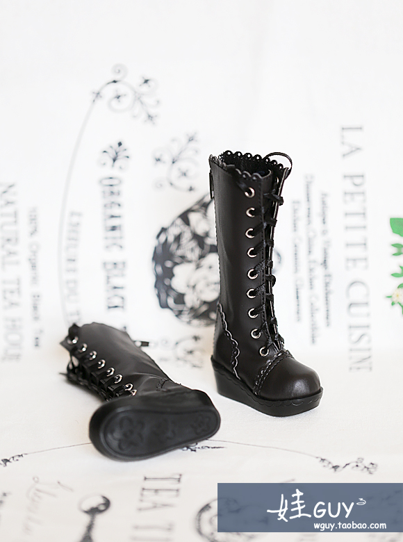 BJD baby shoes SD10 13 womens shoes Beaded medium boots 3 points 4 points shoes DD MDD womens Boots