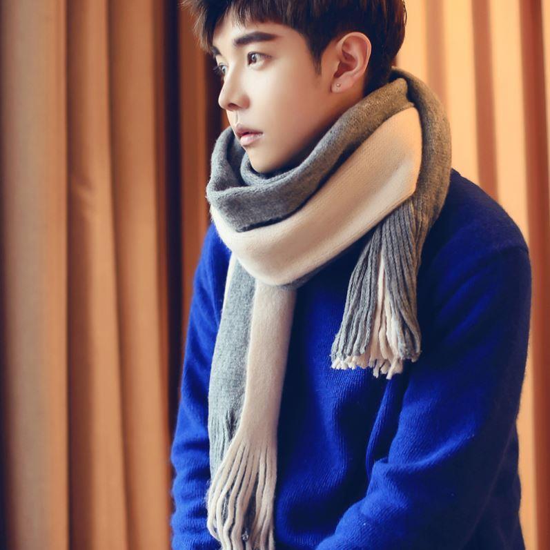 Мужские теплые шарфы Артикул 613724388482