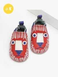 【小茸】秋冬新款婴童学步鞋非洲狮卡通品牌款男宝宝软底鞋学步鞋图片