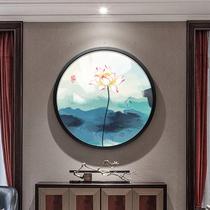 掛軸儒家文化中堂裝飾畫學校教室絲綢裝飾畫孔子畫掛畫像絲綢卷畫