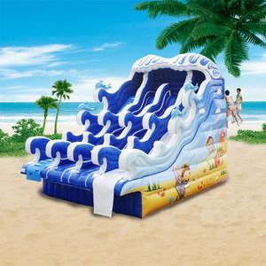 游泳池成人支架水池大充气水上乐园儿童户外型滑梯组合游乐设备