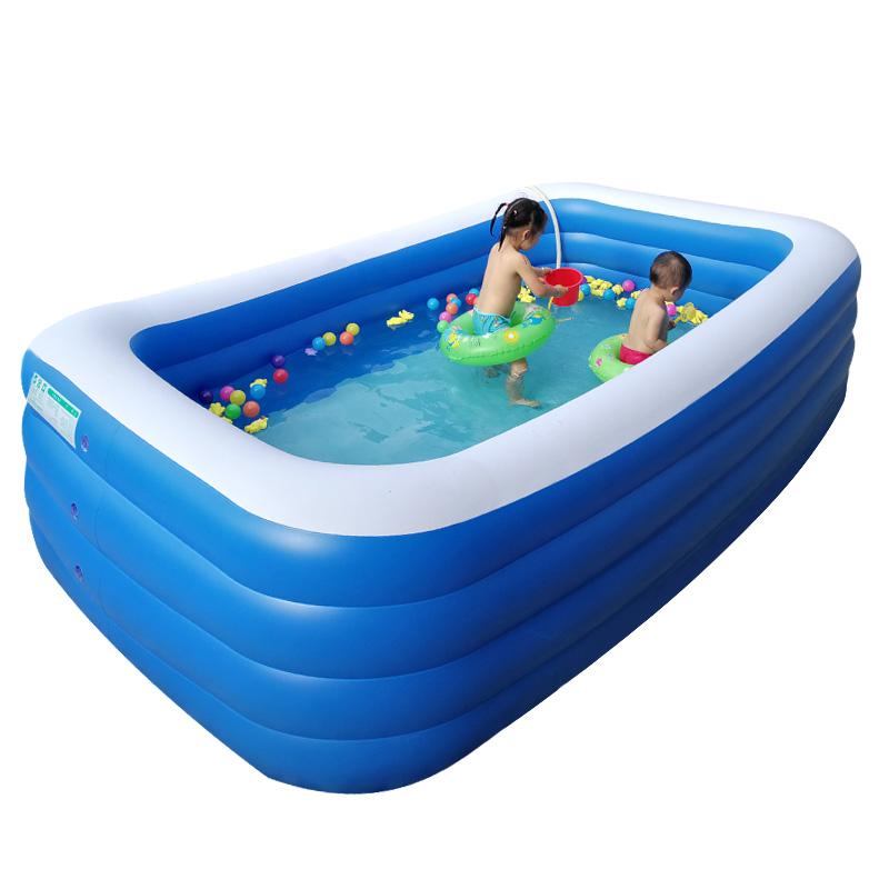 (用1元券)人超大号家庭婴儿游泳儿童充气游