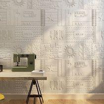 3d立體墻貼客廳臥室電視背景墻壁紙防水自粘軟包墻紙裝飾粘貼畫