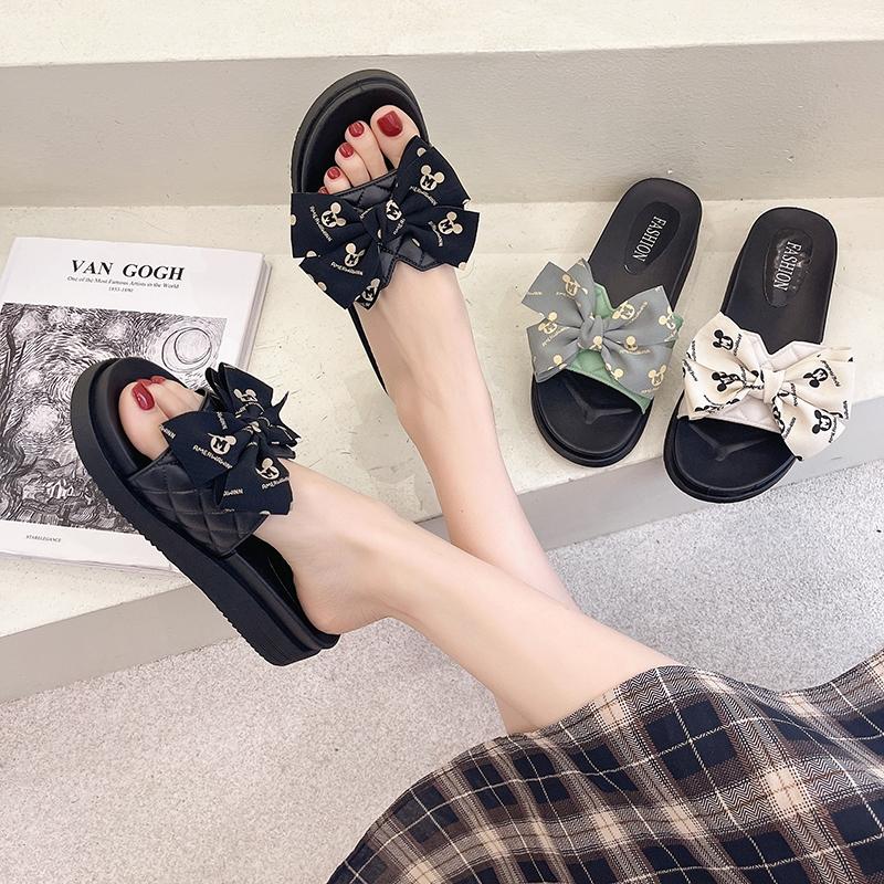 蝴蝶结拖鞋