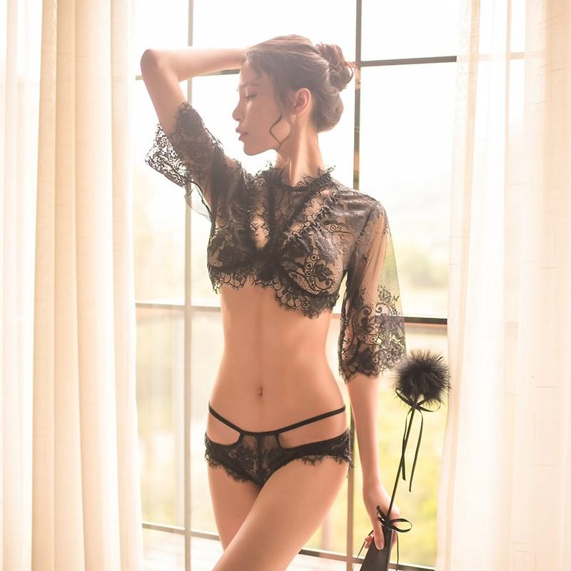 血滴子制服夜店女王骚装情趣内衣买家秀性趣用品透视诱惑分体女服图片
