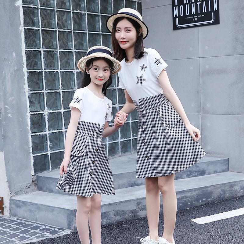 不一样的2019夏装新款格子裙连衣裙11月30日最新优惠