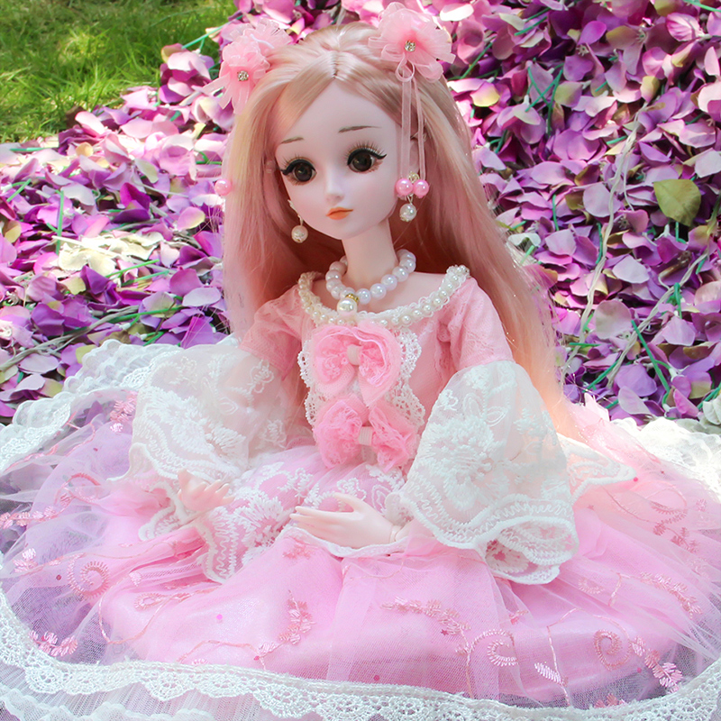 Deborah Barbie extra large doll extra large 60cm single princess simulation girl children's toy set