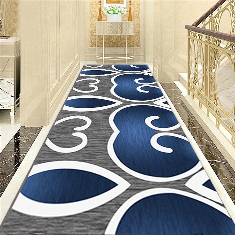 定制任意裁剪玄关走廊过道楼梯地毯防滑垫门厅垫满铺酒店宾馆地垫