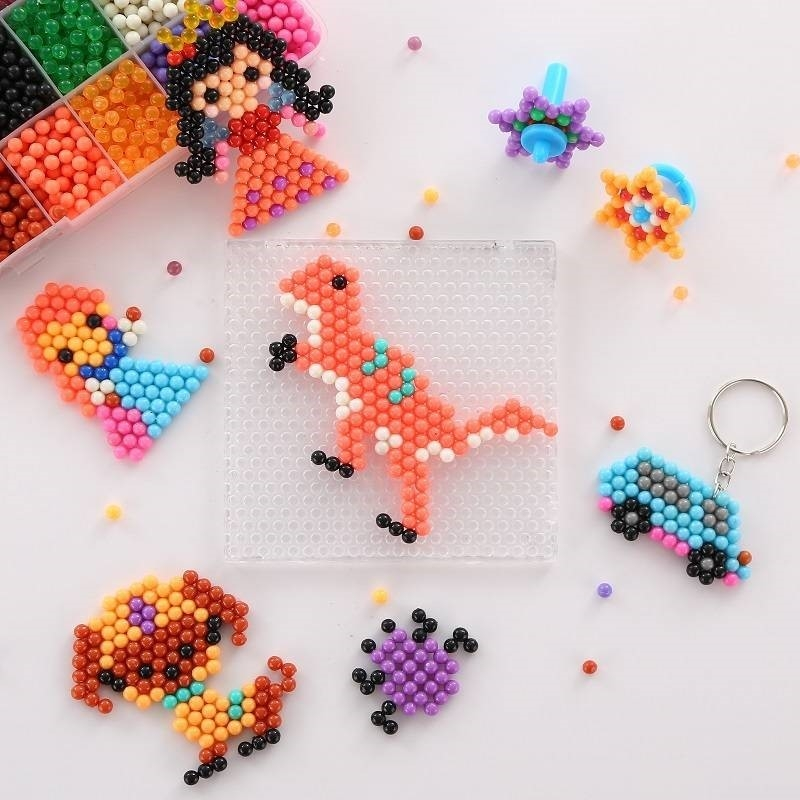 Water droplets hand magic water spray magic games water mist magic beads supplementary assembly puzzle magic beads sticky music